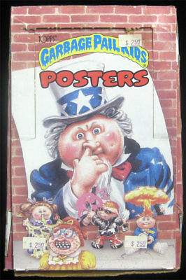 Garbage Pail Kids Posters Lot of 24 Sealed Packs /Box 1986 Topps RARE Case Find!