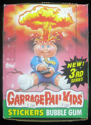 Garbage Pail Kids 3rd Series Lot of 33 Sealed Wax Packs /Box S 3 RARE Case Find!