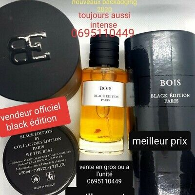 Parfum collection privé Bois n°1 d'argent Black Edition 50 ml made in france