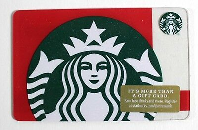 Starbucks Gift Card Christmas Siren Holiday Mermaid Red Green Sparkles New 2018