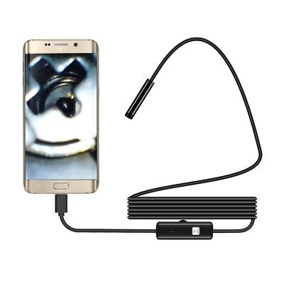 For Android iPhone WIFI Endoscope Waterproof Borescope Inspection Camera 8 LGB