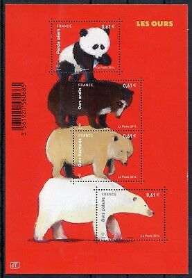 Stamp / Timbre France  Bloc Feuillet Neuf N° F4844 ** Les Ours / Penda