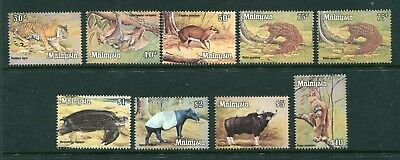 1970 Malaya Malaysia Wild Animal set Stamps Unmounted Mint MNH U/M