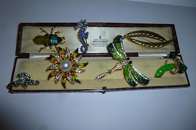 Vintage Jewellery A Really Nice Mixed Job Lot Of Brooches Pins Various Eras