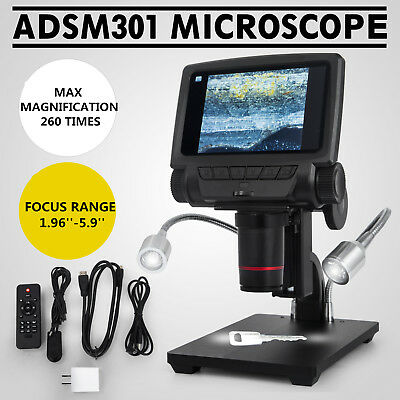 Andonstar 5'' HDMI Digital Microscope USB Microscope ADSM301 for PCB Repair Tool