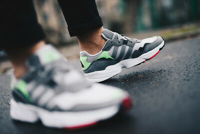 new style cfce6 1ba95 Adidas Originals Yung-96 Grey Green Pink Sneakers Lifestyle Men New retro  F35020