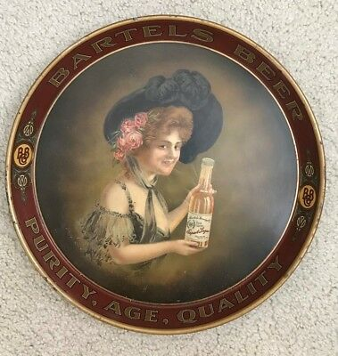 Scarce Bartels Brewing  of Edwardsville PA Luzerne Cty Graphic Advertising Tray