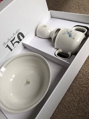 Mothercare Beatrix Potter 150 Years Peter Rabbit Breakfast Set Baby Gift