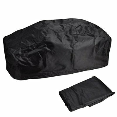 """❤ Yescom 420D Oxford W"""" Dust Cover Water & Uv Resistances For 5000-13000 Lbs Bla"""