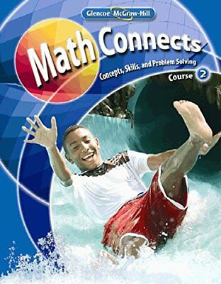 Glencoe Mcgraw Math Connects Course 2 Student Edition Book Textbook