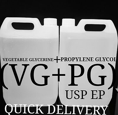 Propylene Glycol (Pg) & Vegetable Glycerine (Vg) Pg/Vg Diy Mix Ratio On Choice