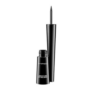 Mac Cosmetics Eyeliner Liquido Nuovo In Scatola  Punta Sottile Makeup Waterproof