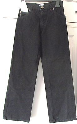 ARMANI JUNIOR Black Jeans Regular fit - Age 7a Yrs - RRP 97.50 - BRAND NEW TAGS