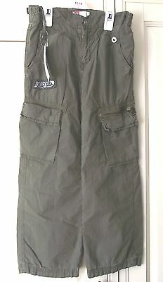 Diesel Cargo style Trousers  - Khaki - Age 7 Yrs (126) - Brand New Tags.