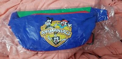 Animaniacs Pac fanny pack multi color 1995 warner brothers brand new