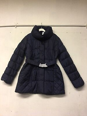 Navy Blue XL Extra Large Mamalicious Maternity Quilted Winter Coat Jacket