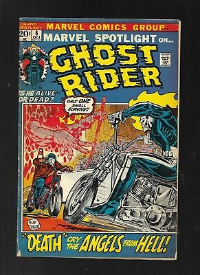 Marvel Spotlight 6 second appearance of Ghost Rider