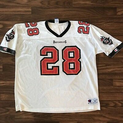 aff440301 ... new zealand tampa bay buccaneers warrick dunn champion jersey 28  vintage size 52 9ae7b 67f37 ...
