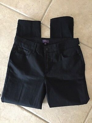Nydj Not Your Daughters Jeans~ Style~M77J44Dt4335 Black Ankle Skinny  6