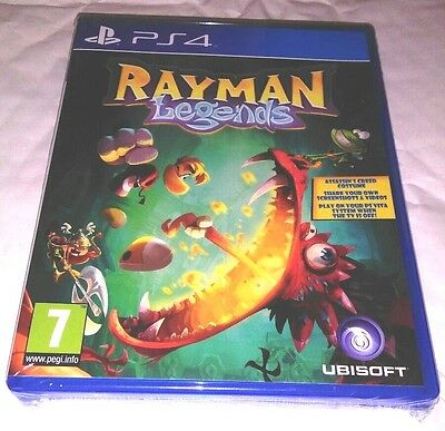 RAYMAN LEGENDS PS4 Game NEW UK PAL English for Sony Playstation 4 - FAST POST