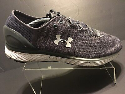 new concept 776d6 b316f UNDER ARMOUR UA Bandit 3 Gray/White Athletic Running Shoes Men's Size 13