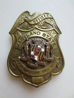Obsolete Maryland Reformatory for Males Badge