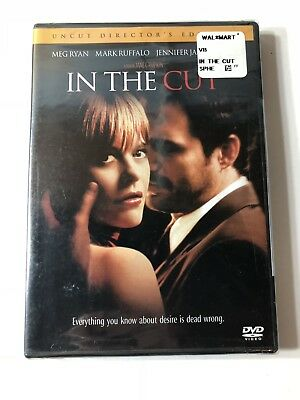 BRAND NEW In the Cut W/ Meg Ryan (DVD 2004 Unrated Version)