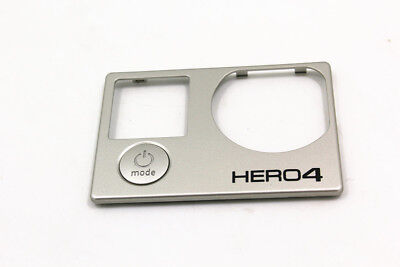 for Gopro Hero 4 Optical Front Cover Plate Repair Part Action Camera Black +Butt