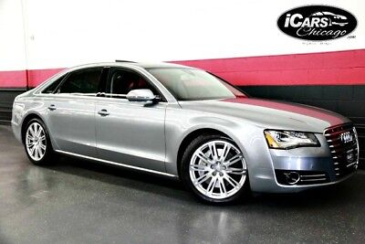 2012 Audi A8  2012 Audi A8 L 1-Owner 44,539 Miles Night Vision Premium Pkg Pano Roof Serviced