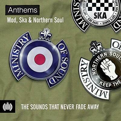 Anthems: Mod, Ska & Northern Soul - Ministry Of Sound -  CD 4FVG The Cheap Fast