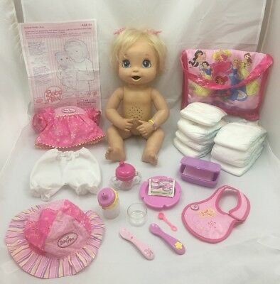 Hasbro, My Baby Alive Doll, Interactive, 2006, Works, Good Condition, Soft Face!