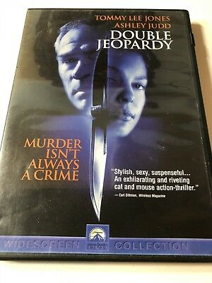 DOUBLE JEOPARDY DVD Movie Pre-Owned