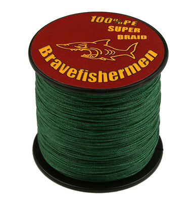 100M Moss Green Super Strong Sea Fishing Line Dyneema Spectra Extreme PE Braided