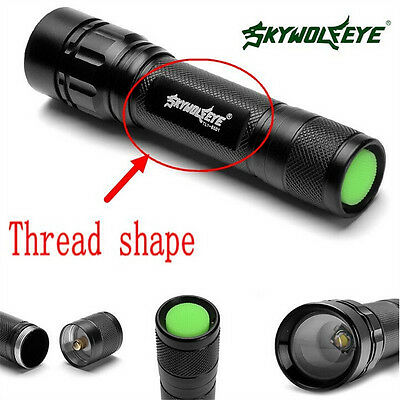 Tactical Flashlight Zoomable 20000 LM 3 Modes T6 LED 18650 Torch Lamp Light*