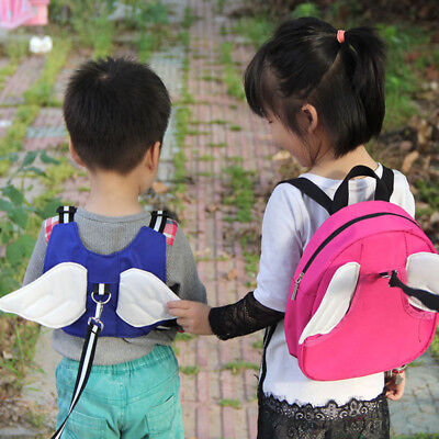 2 In 1 Children's Backpack Kids/Toddler Safety Leash Walking Harness Buddy Strap