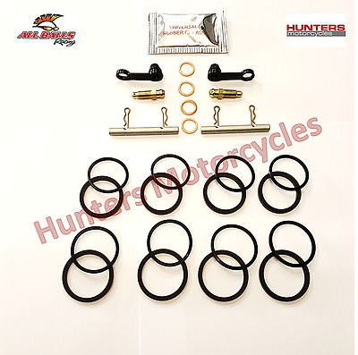Yamaha YZF-R6 Front Brake Caliper Piston Seals Pins Repair Kit x 2