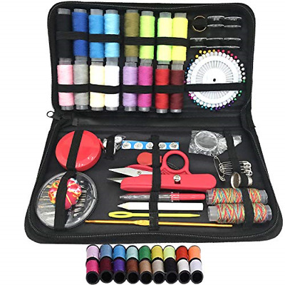 JZMYXA Multifunction Portable Sewing Kit for Premium Sewing Supplies, Sewing &