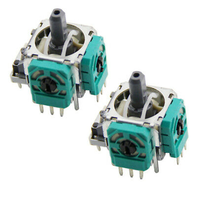 2PCS Analog Stick Replacement Switch for Xbox One Controller Button Joystick #AM