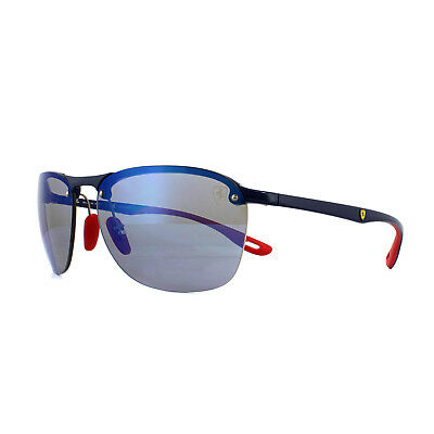 1eb8282c4e Ray-Ban Sunglasses Scuderia Ferrari RB4302M F606H0 Blue Red Polarized Blue  Mirro