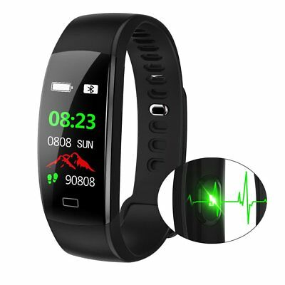 Wasserdicht IP68 Smartwatch Smart Sport Armband Fitness Tracker Uhr SAVFY