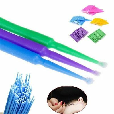 EYELASH SWABS Disposable Micro Brush Applicator Removers Extensions Mascara Wand