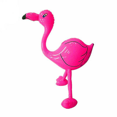 EG_ Inflatable Flamingo Summer Swimming Beach Party Water Float Toy Pool Decorat