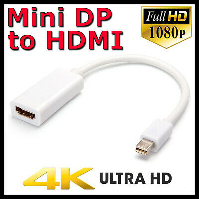 Mini DisplayPort DP Thunderbolt to HDMI Adapter Cable for MacBook Pro Air iMac