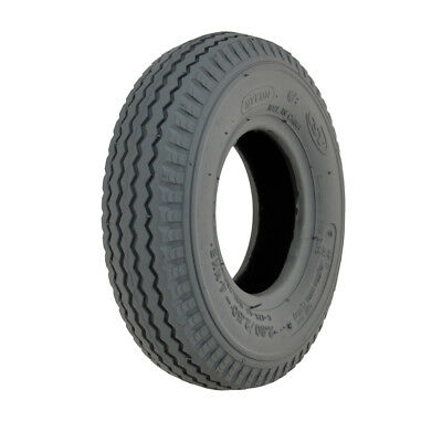 280/250 X 4 Grey Sawtooth Power wheelchair or mobility scooter Tyre