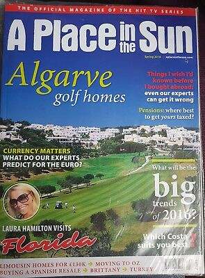 A Place In The Sun Magazine Spring 2016 Issue Brand New