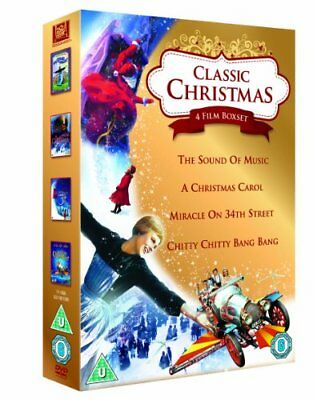 Classic Christmas 4 Film Collection: The Soun with Julie Andrews New (DVD  2011)