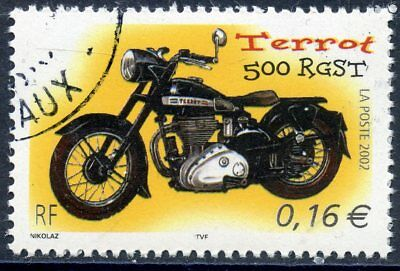 Stamp / Timbre France Oblitere N° 3509  Moto / Terrot 500 Rgst