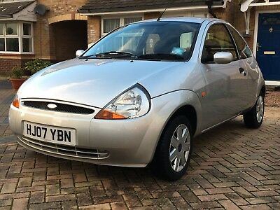Silver Ford Ka Climate  Petrol Manual Only  Miles