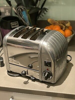 Dualit 3 slice toaster In Silver Model 30110