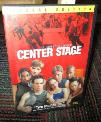 Center Stage - Special Edition Dvd Movie, Amanda Schull, Peter Gallagher, Guc
